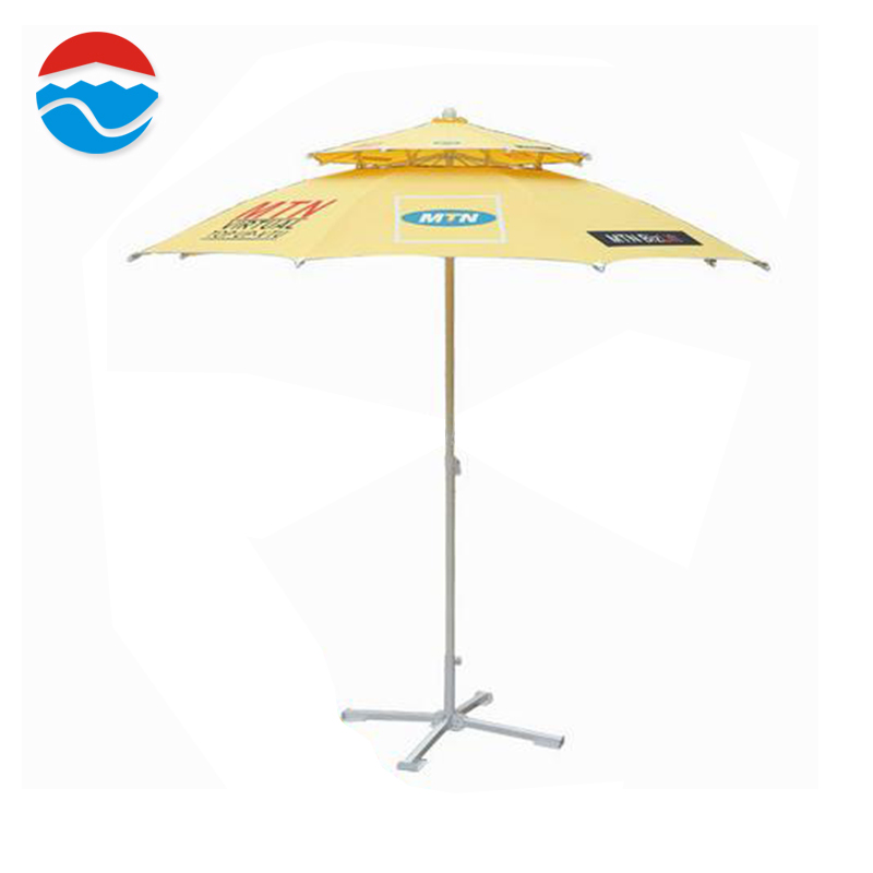 240CM*8K Best price superior quality custom logo patio yellow umbrellas
