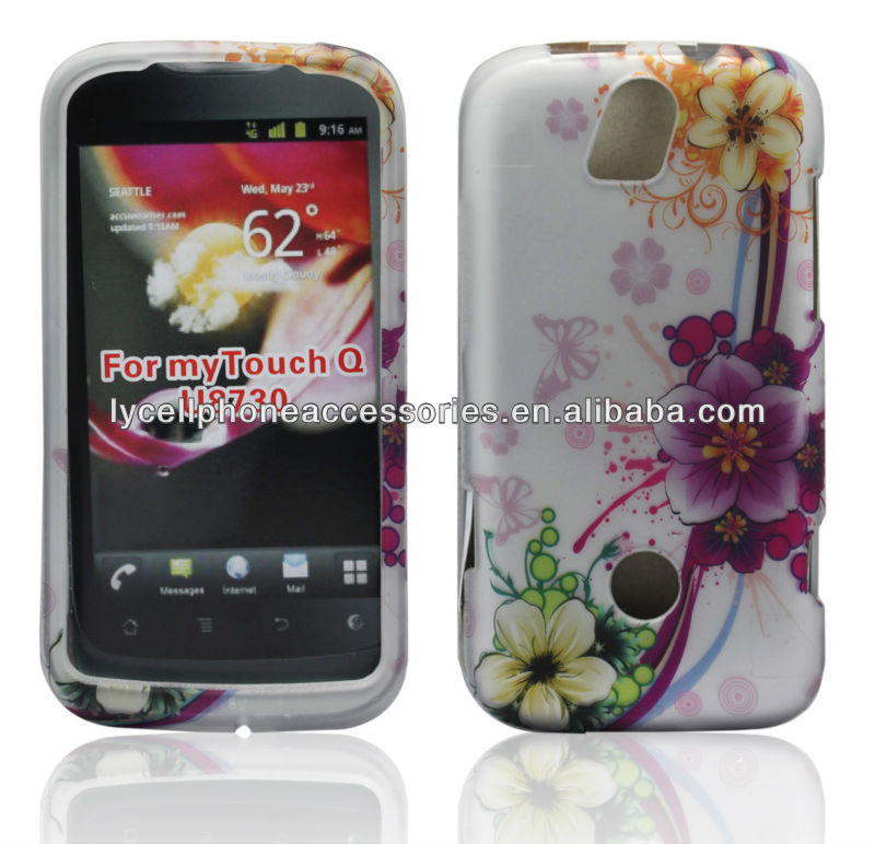 For HuaWei U8730 Ascend G312 MyTouch Q Flower Cell Phone Case Cover Faceplate