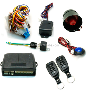 Universal remote auto guard anti-hijacking keyless entry smart car alarm systems