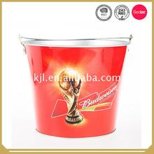 100% Good quality large metal ice bucket with stand with Handle