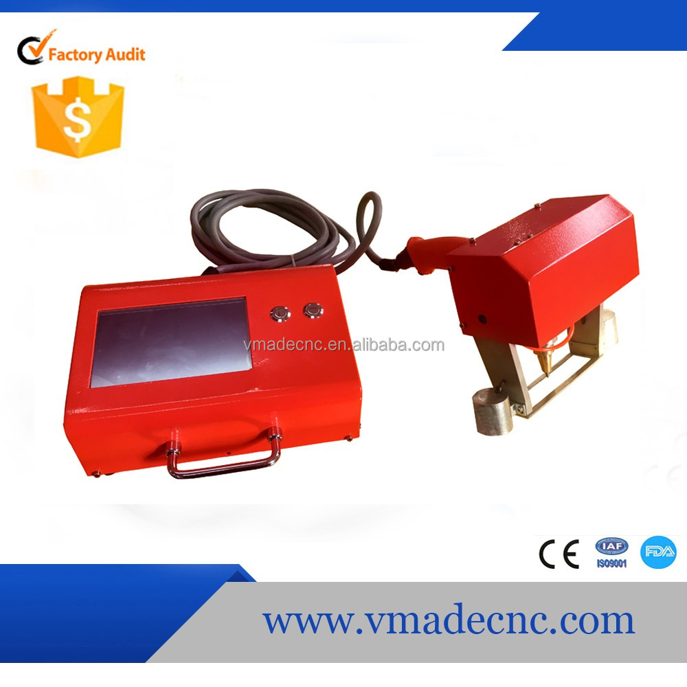 cheap price vmade vin number 3d model tag portable dot peen marking machine for plate