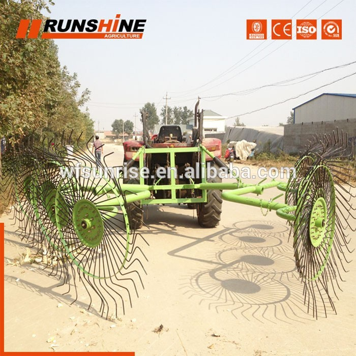 Customisable Packaging Straw Rotary Hay Rake Tedder
