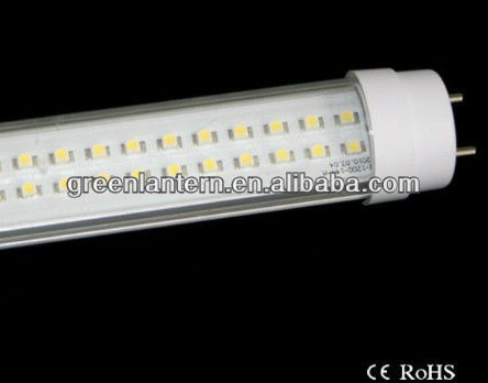 Transparent led tube fluorescent 10W T10 led tube light 600mm led tube factory