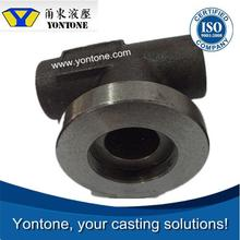 Yontone Fast Delivery Company T6 QT400-18 spring pad ductile iron casting sand casting cast iron foundry