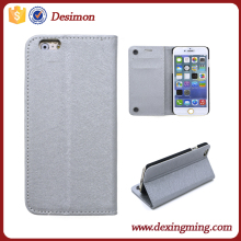 Cell phone Cute Suction Cup PU Leather Case for iphone 6s