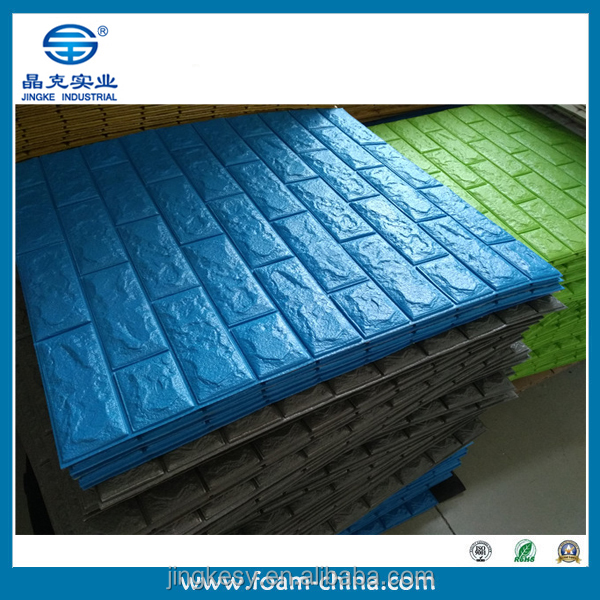interior brick wall design/room decor kids 3d foam stickers/3d design foam wall paper
