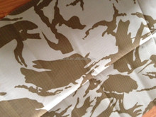 100% cotton camouflage printed fabric