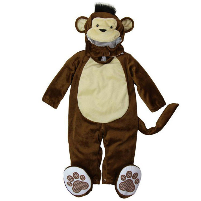 Hot Sale Plush Monkey baby halloween costumes