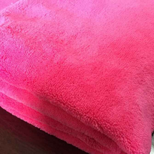 Plain Dyed Hotel Bedding 100% Cotton Flannel Quilting Fabric