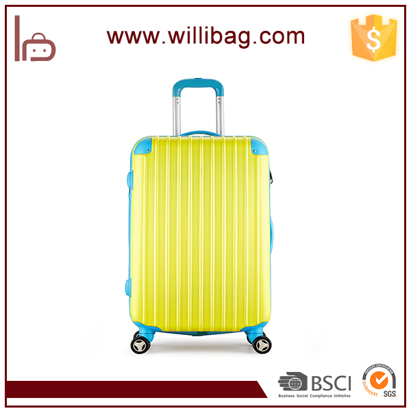 Durable ABS Material Trolley Bags Fashion Fancy Travel Trolley Luggage
