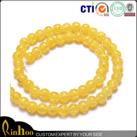 Bright-Coloured Fashion Jewelry Natural Bead Gem, Top Sale Yellow Gemstone