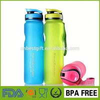 Plastic Smoothie Cups with Lids for Wholesale Custom Sports Water Bottle