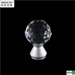 Furniture Fitting Clear Acrylic Handle