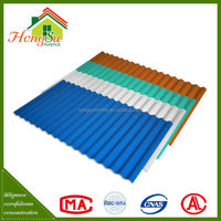 Good price anti-corrosion color coated roofing tiles