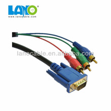 High Export s-video to coaxial vga adapter cable