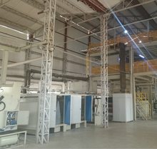 SSSS 1600 pp spunbond nonwoven fabric making machinery line
