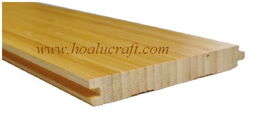 Solid Vertical Bamboo Flooring 15 mm