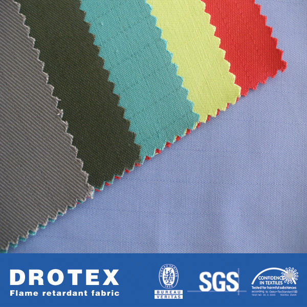 9OZ Cotton/Poly Blend Antistatic Flame Retardant Workwear Fabric