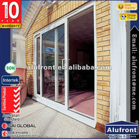 aluminium parallel sliding door / German brand hardware parallel sliding door