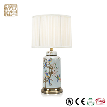 Cafe Decorative lighting 38265486140 bedside hand painted bottle ceramic table lamp