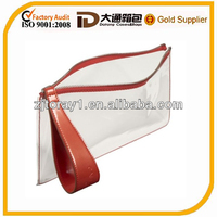 Wholesale clear pvc cosmetic bag toiletry bags