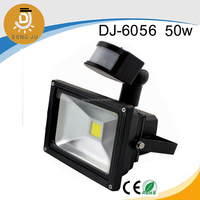 A little more expensive but much better quality ! high power led work led flood lights with motion sensor DJ-6056 50w