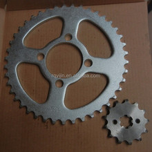 factory price 1045 steel motorcycle bajaj discover 100 chain sprocket set