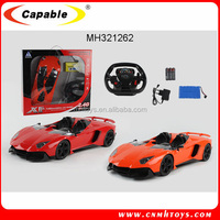 2.4 Ghz 1:8 scale R/C 4 channel with LED light Gravity sensor kids model racing car
