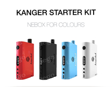 High quality 100% authentic kanger newest mod nebox starter kit ,kangertech nebox