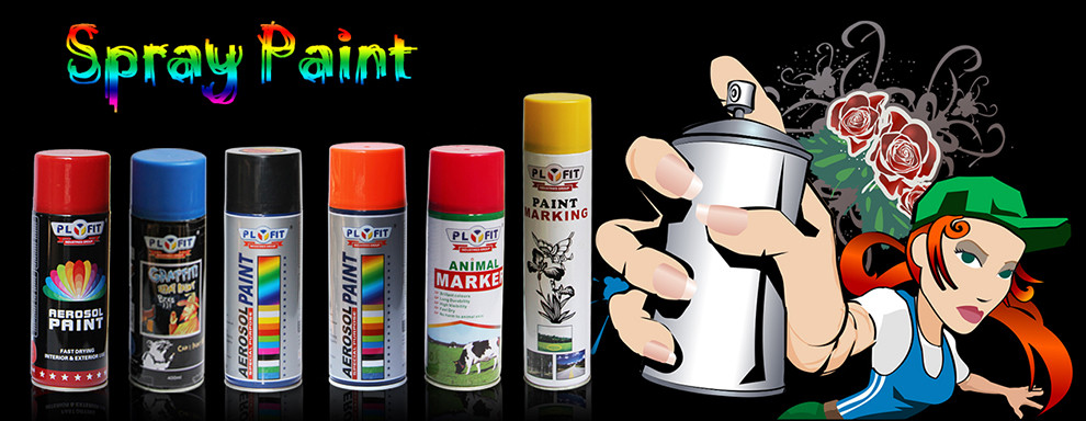 PLYFIT Graffiti Spray Paint Art Paint