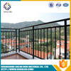 Cheap removable stainless /galvanized steel handrail post designed/balcony handrail height