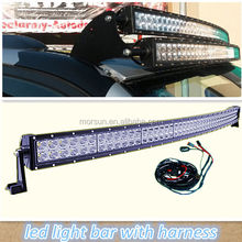 52 inch 288 Watt 4x4 Cr ee Led Car Light, Curved led light bar Off road,auto ledbar arch bent