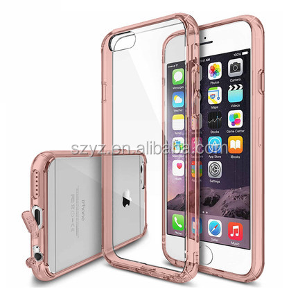 2016 Transparent Silicone Back Cover Wholesale Cell Phone Cases For iphone 5 5s SE 6 6s Plus 6Plus 4 4s