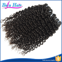Befa Hair Whosale Brazilian Spiral Curl Raw Virgin Human Hair Extensions Weft