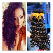 Wholesale virgin hair deep wave unprocessed no chemicals power extensions