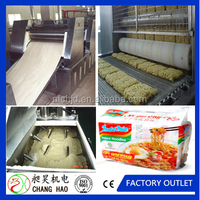 Industrial instant noodle processing line/automatic fried noodle processing machine/noodle making line