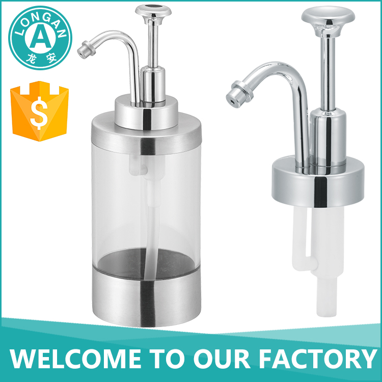 LA FP06 liquid bottle pump, metal foam soap dispenser pump, 28mm foam pump