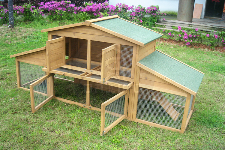 Commercial Wooden Used Rabbit Breeding Cage For Sale