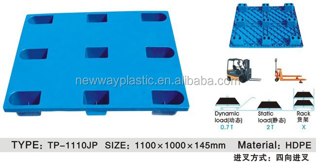 New product plastic pallet(storage), storage pallet,pp or HDPE plastic pallet