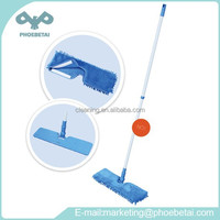 Double Cleaning Function mop with Plastic Mop Frame