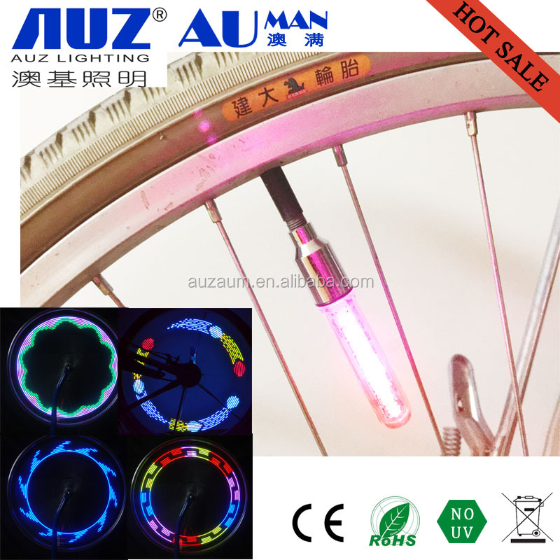 7 Led Bike Car Motorcycle Valve Cap Tire Led Wheel Light Wholesale