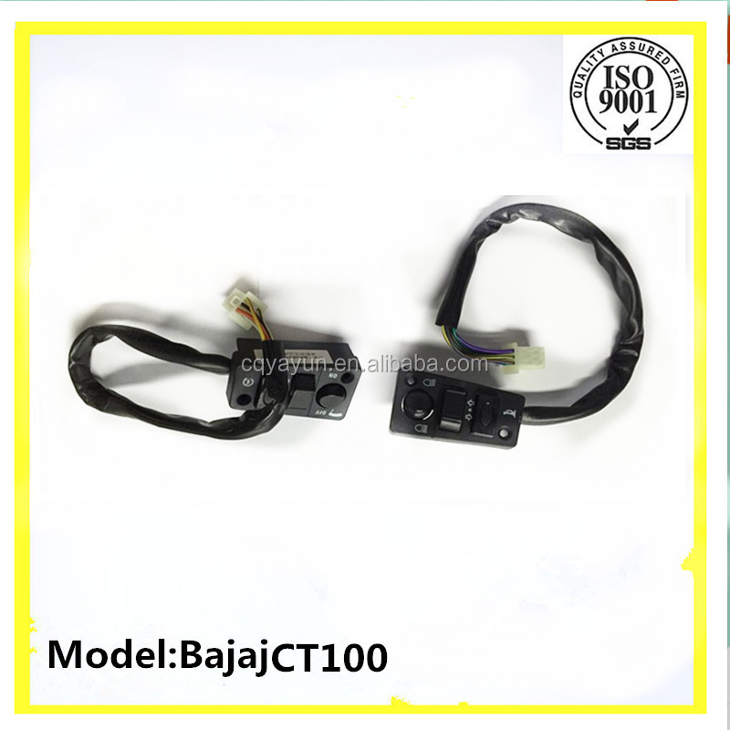 Motorcycle Main Switch for BAJAJ CT100