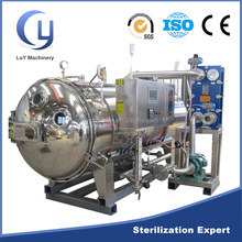 Spray water bath type beef chicken ham china steam sterilizer autoclave price