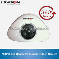 LS VISION High Resolution 700TVL 360 Degree Panoramic 1/3 sony ccd cctv mini camera