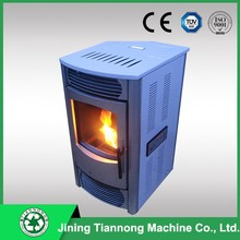 Made in China CE Popular design cast iron Anegre Figured wood pellet stove with parts
