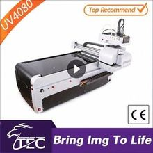 Best choice UV 3d flatbed galss meatal and phone case printing plastic button printing machine