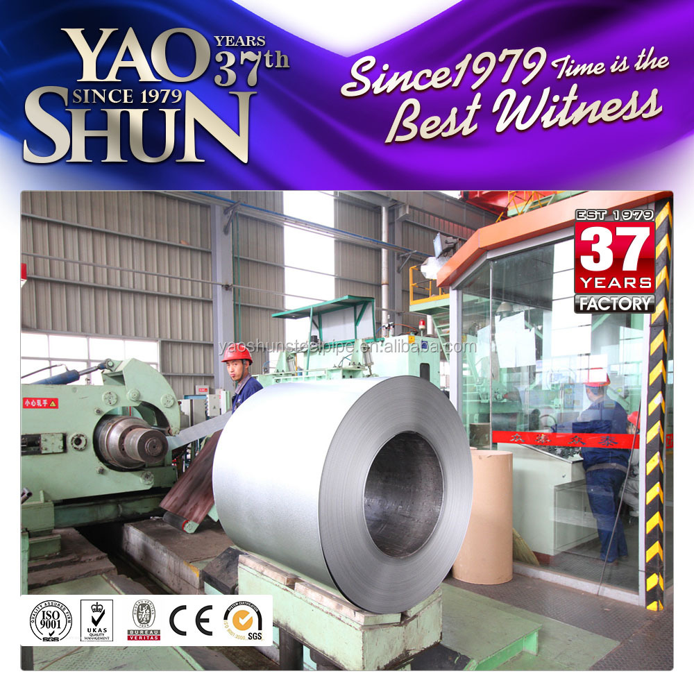 Q195 235 345 Galvanized steel coil with high zinc coating and cold rolled finishing