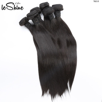 Free Sample 3 Three Bundles Human Hair Extension Russian Double Drawn Nano Ring Hair Extension