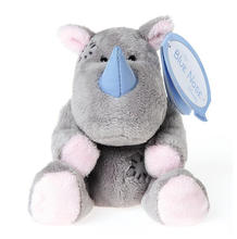 My Blue Nose Friend Rhinoceros Plush Soft 16 inch Stuffed Rhino