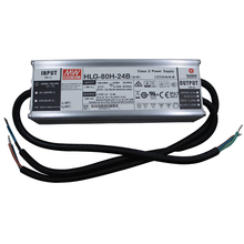 Mean Well Led Driver Power 24V 80W 3.4A Waterproof IP67 Dimmable Power Supply HLG-80H-24B